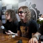 Opeth Press Conference at Hard Rock Cafe, Bangalore