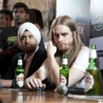 Opeth Press Conference at Hard Rock Cafe, Bangalore