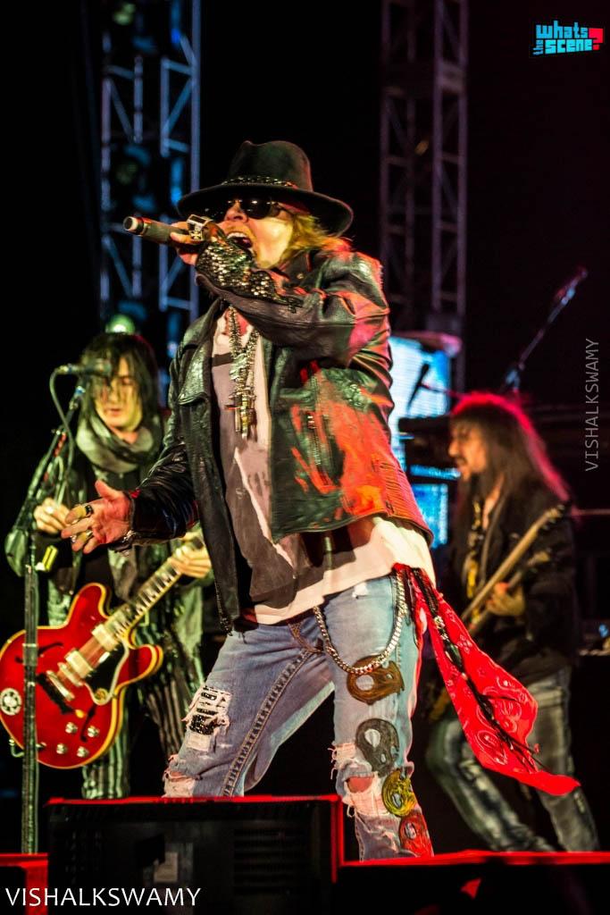 Guns 'N Roses at Bhartiya City, Bangalore