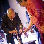Pt. Hariprasad Chaurasia, Rashid Mustafa Thirakwa at Lotus Temple