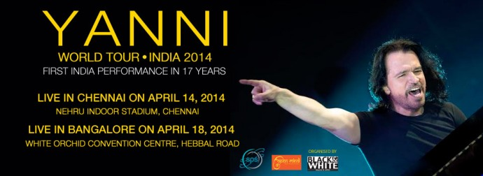 Yanni to perform in India after 17 years