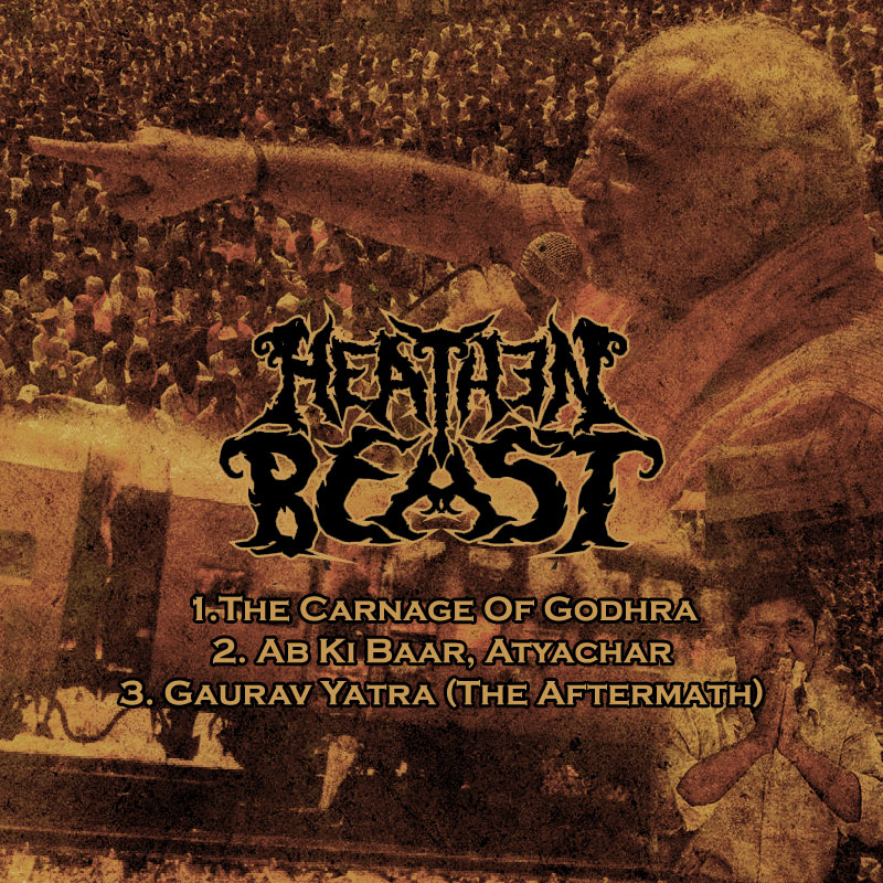 Heathen Beast to release new EP 'The Carnage Of Godhra'