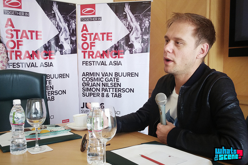 Interview with Armin van Buuren
