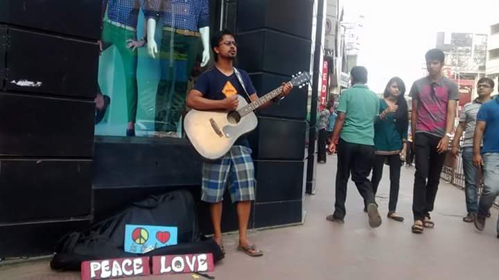 Wanderlust and Music: The Busking Man Chronicles